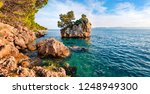 panoramic morning view of... | Shutterstock . vector #1248949300
