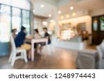 cafe interior out of focus  ...   Shutterstock . vector #1248974443