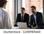 surprised hr executive managers ... | Shutterstock . vector #1248985660