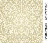 seamless victorian pattern.... | Shutterstock .eps vector #1248995950