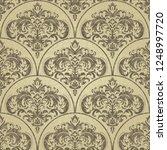 seamless victorian pattern.... | Shutterstock .eps vector #1248997720