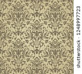 seamless victorian pattern.... | Shutterstock .eps vector #1248997723