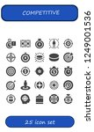 vector icons pack of 25 filled...   Shutterstock .eps vector #1249001536