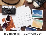 travel vacation background... | Shutterstock . vector #1249008319