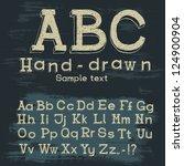 alphabet | Shutterstock . vector #124900904