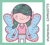 boy fairy fantastic creature... | Shutterstock .eps vector #1249010773
