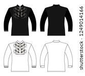 t slavic shirt vyshivanka man...   Shutterstock . vector #1249014166