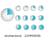 time icons | Shutterstock . vector #124904030