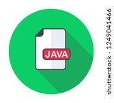 java file format  extension... | Shutterstock .eps vector #1249041466
