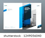 brochure template layout design.... | Shutterstock .eps vector #1249056040