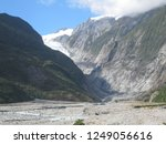 the franz jozef glacier in new... | Shutterstock . vector #1249056616