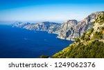 aerial view of coastline...   Shutterstock . vector #1249062376