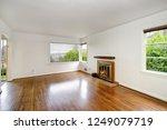 empty craftsman style living... | Shutterstock . vector #1249079719