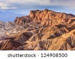 Eroded Mountain Ridges At...