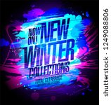new winter collections... | Shutterstock .eps vector #1249088806