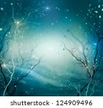 Winter Nature Abstract...