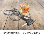 whiskey with car keys and...