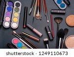 professional set of cosmetics... | Shutterstock . vector #1249110673
