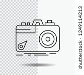 camera  photography  capture ... | Shutterstock .eps vector #1249114213