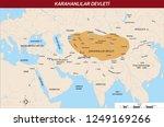 ottoman  asian  asya hun... | Shutterstock .eps vector #1249169266