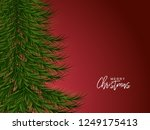 holiday's background with... | Shutterstock .eps vector #1249175413