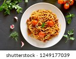 Tasty Spaghetti With Minced...