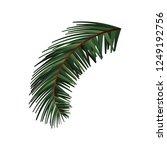 happy christmas decoration | Shutterstock .eps vector #1249192756