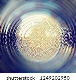 fresnel lens.potlight with...   Shutterstock . vector #1249202950
