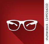 sunglasses sign illustration.... | Shutterstock .eps vector #1249216210