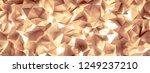 golden background with crystals ...   Shutterstock . vector #1249237210
