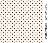 vector minimalist geometric...   Shutterstock .eps vector #1249242343