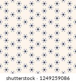 subtle vector seamless pattern. ...   Shutterstock .eps vector #1249259086
