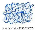 street wild fast flop style... | Shutterstock .eps vector #1249263673