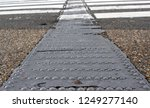 tactile paving to assist the... | Shutterstock . vector #1249277140