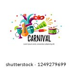 vector illustration with... | Shutterstock .eps vector #1249279699