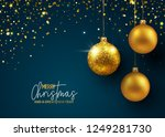 holiday greeting card | Shutterstock .eps vector #1249281730