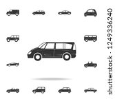 minivan large car icon.... | Shutterstock . vector #1249336240