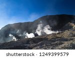 active volcanoes at java island.... | Shutterstock . vector #1249399579