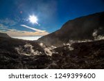 active volcanoes at java island.... | Shutterstock . vector #1249399600
