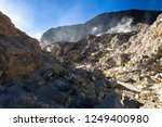 active volcanoes at java island.... | Shutterstock . vector #1249400980