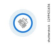 broadcast  broadcasting ... | Shutterstock .eps vector #1249421656