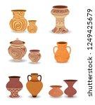 Old Antique Pottery Jars  ...