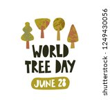 world tree day  forest day... | Shutterstock .eps vector #1249430056