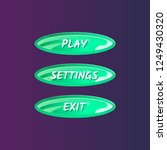 green oval options panel for...