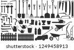 Garden Tools. Vector...