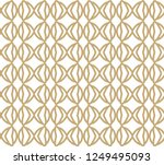 seamless geometric ornamental... | Shutterstock .eps vector #1249495093