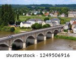 france. ancient city of amboise ... | Shutterstock . vector #1249506916