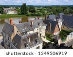 france. ancient city of amboise ... | Shutterstock . vector #1249506919