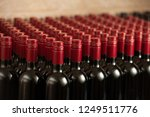 Bottles Of Wine In Winecellar...