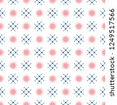 seamless pattern with buttons.... | Shutterstock .eps vector #1249517566